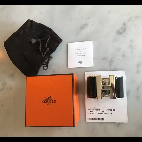 Hermes Jewelry   Authentic Xl Clic H Bracelet   Poshmark 17f0d8a5c14